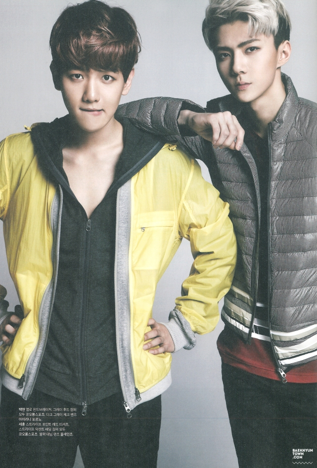 [SCAN] THE CELEBRITY March Issue by:Baekhyuntown