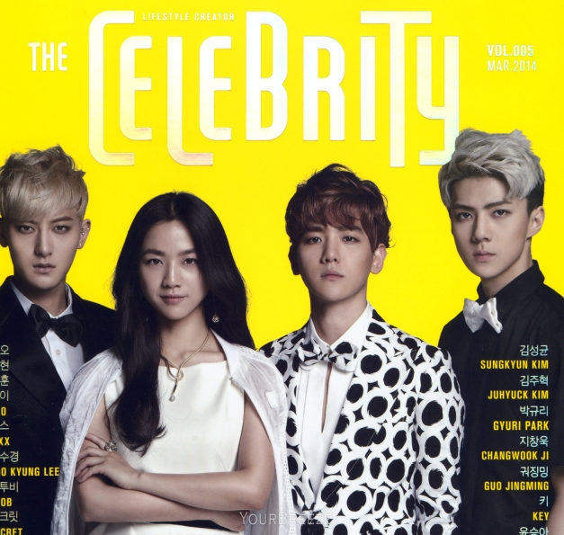 [SCAN] THE CELEBRITY March Issue by: Your Breeze