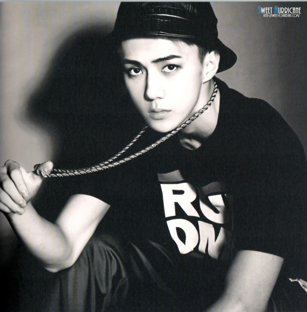 "[SCAN] Sehun on EXO 2nd Mini Album ""Overdose"""